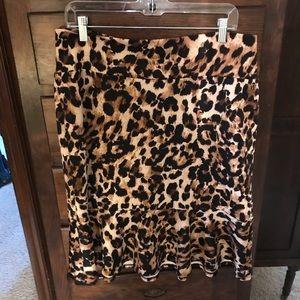 Beautiful leopard skirt!